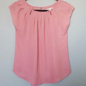 Lauren conrad pink blouse XS